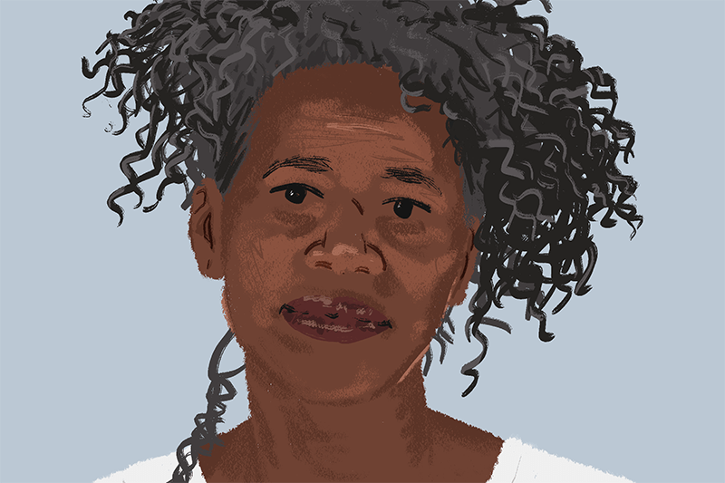 Illustration of a Mozambique Woman